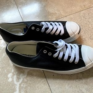 Brand New Jack Purcell Leather Converse Sneakers.